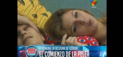 """Gran Hermano 2015"": Romina atacada por su figura"