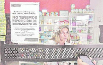 Angustia en farmacias por falta de reposición de medicamentos