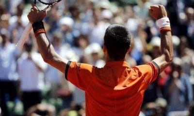 Djokovic gan� el primer set y se acerca a su primer Roland Garros