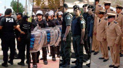 El Gobierno dará un aumento del 27 por ciento a las fuerzas de seguridad