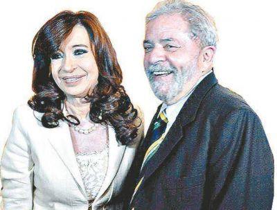 Cristina y Lula se reunieron en Roma a hablar de la región
