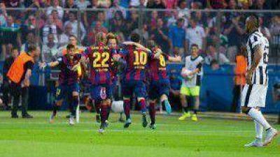 Triple Corona para Barcelona, al vencer 3 a 1 a Juventus y obtener la Champions