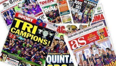 El mundo se rinde a los pies del Barcelona de Messi