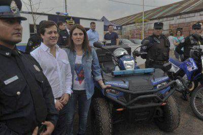 """Recalde prometió """"potenciar"""" la Metropolitana"""