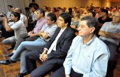 Peppo reunió a referentes de Sáenz Peña