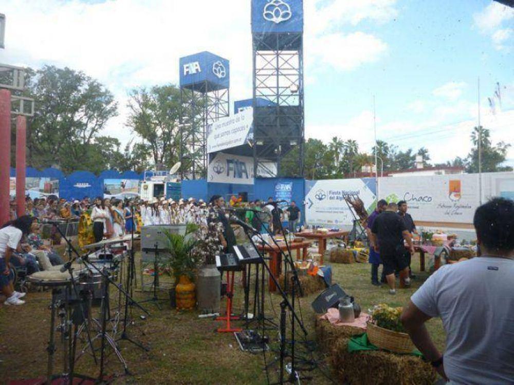 Fiesta Nacional del Algodón: el público se sumó a la propuesta de Cocineros Argentinos