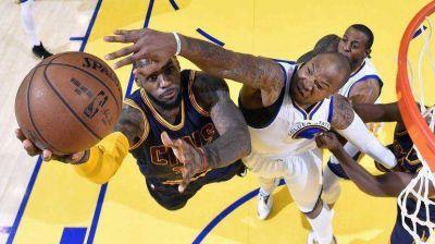Final de NBA: Cleveland venció a Golden State y empató la serie