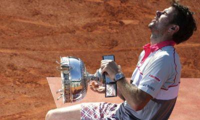 Wawrinka dio la sorpresa ante Djokovic y es campeón en Roland Garros