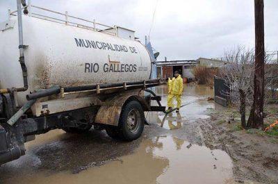 Operativo emergencia ante los altos niveles de lluvia caídos