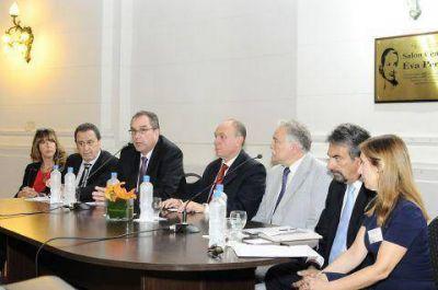 Carignani participó de la Jornada parlamentaria de Derecho a la Salud