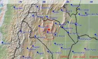 Un temblor sacudió a los riojanos en la tarde del domingo