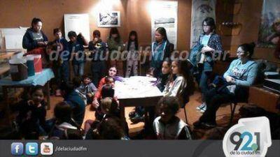 Se hizo La Noche de los Museos en Saavedra
