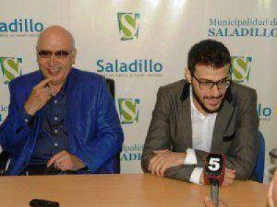 Los Leuco brindaron una conferencia de prensa para los periodistas locales