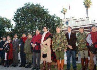 Recordaron al General Güemes en el lugar donde fue herido por fuerzas realistas