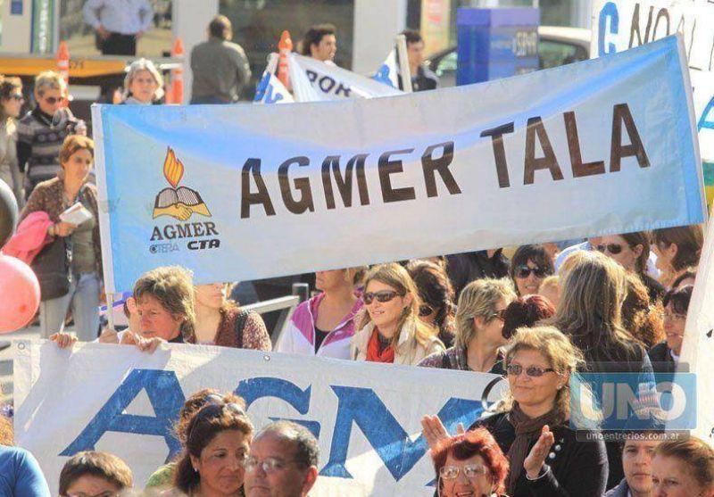 Agmer reclamó al gobierno que se reabra la discusión salarial