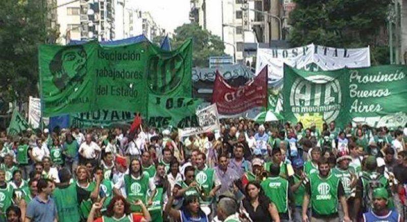 ATE provincia comienza paro de 48 hs alineado a la huelga nacional de mañana