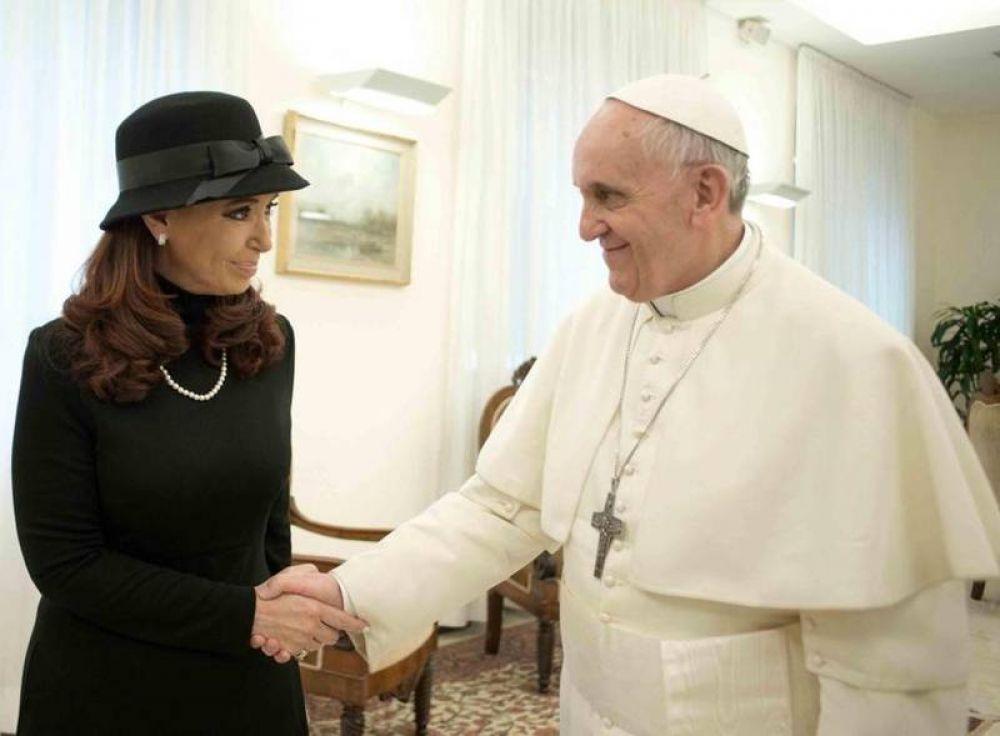 Audiencia privada récord entre el Papa y la presidente argentina