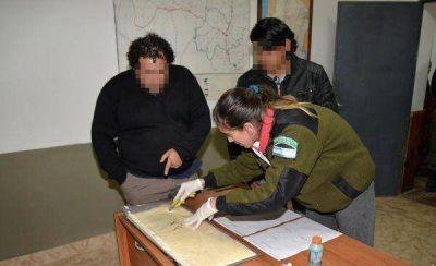 Gendarmería incautó más de 19 kilos de cocaína y detuvo a tres personas