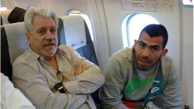 Tevéz llegó a Chile para sumarse al plantel argentino