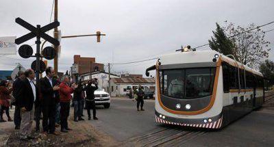 Primeras pruebas de circulación del Tren Urbano