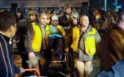 Choque de trenes en Temperley: Dieron el alta a los 41 heridos