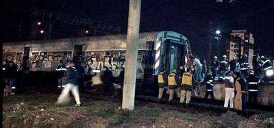 Los videos del choque de trenes ya están en la Justicia