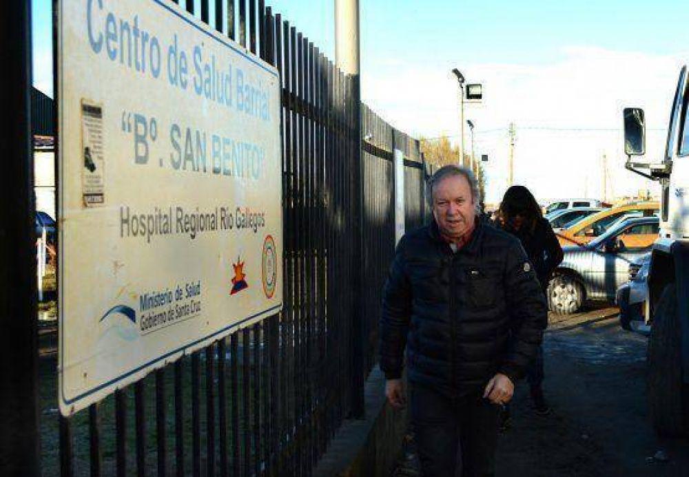Peralta inauguró obras de ampliación y remodelación en Centro de Salud N° 8