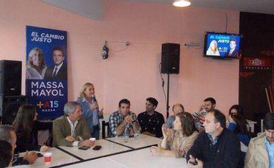 López, en reunión seccional del FR
