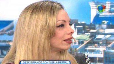 Gisela Bernal se emocionó al hablar sobre sus problemas económicos