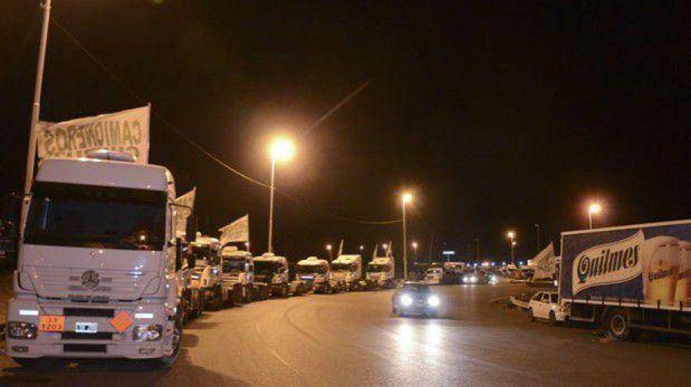 En Comodoro el paro de hoy impactará en el transporte de pasajeros y de carga