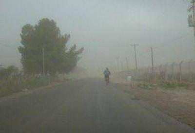 Rige una alerta meteorológica por la presencia de viento Zonda