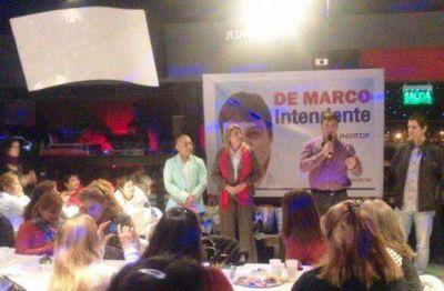 De Marco agasajó la iniciativa de las mujeres emprendedoras de Ushuaia
