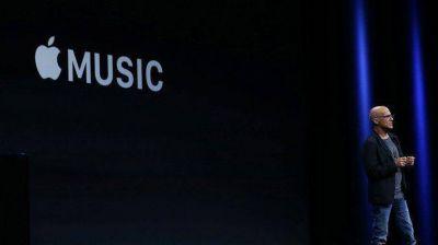 Apple presentó Music, su servicio de música por streaming