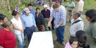 Avanzan relevamiento de tierras indígenas