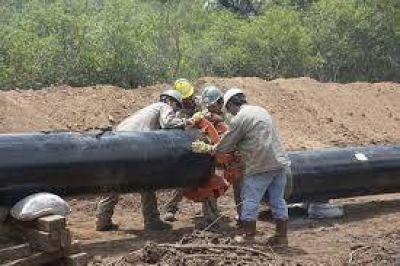 La construcción de gasoducto se constituyo en una fuente de trabajo para 350 formoseños del oeste