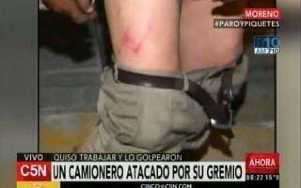 #MartesDeParo: Camionero denunció feroz ataque en Moreno