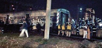 Choque de trenes: detuvieron al maquinista y a su ayudante