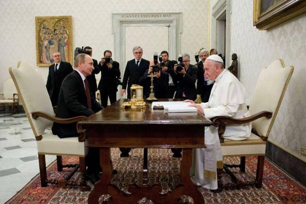 Las convergencias entre el Papa y Putin