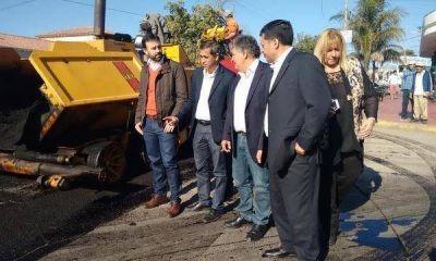 El bederismo lanzó un plan de asfaltado de 1.000 cuadras