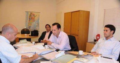 Facundo Celasco se reunió con el Presidente de la Administración de infraestructura Ferroviaria S.E