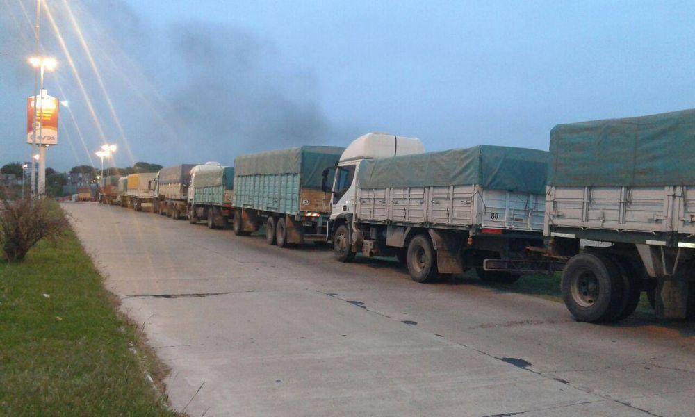 """""""Fue una medida con compromiso"""", afirmó el Sindicato de Camioneros sobre el paro"""