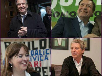 Aquí están, estas son las cinco listas para la elección provincial
