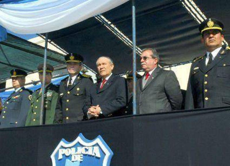 Record� un nuevo aniversario La Polic�a de la Provincia de Jujuy