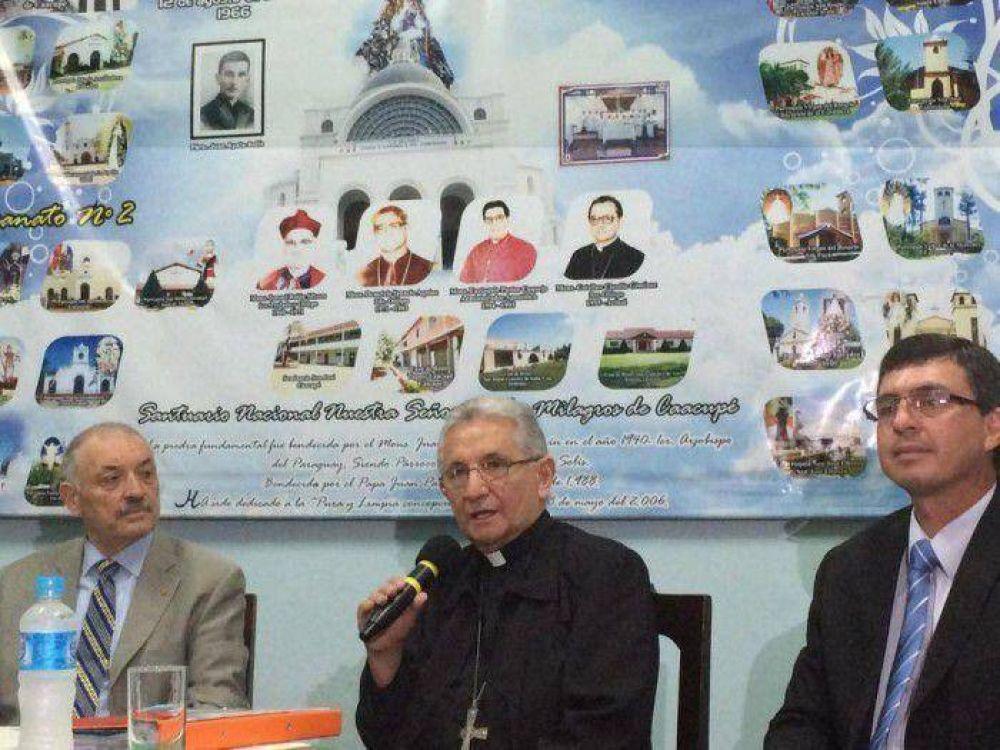 Brindan detalles sobre la visita del Papa a Caacupe