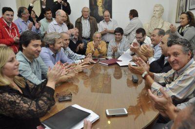 """Los partidos opositores nucleados en """"Cambiemos"""" inscribieron su alianza"""