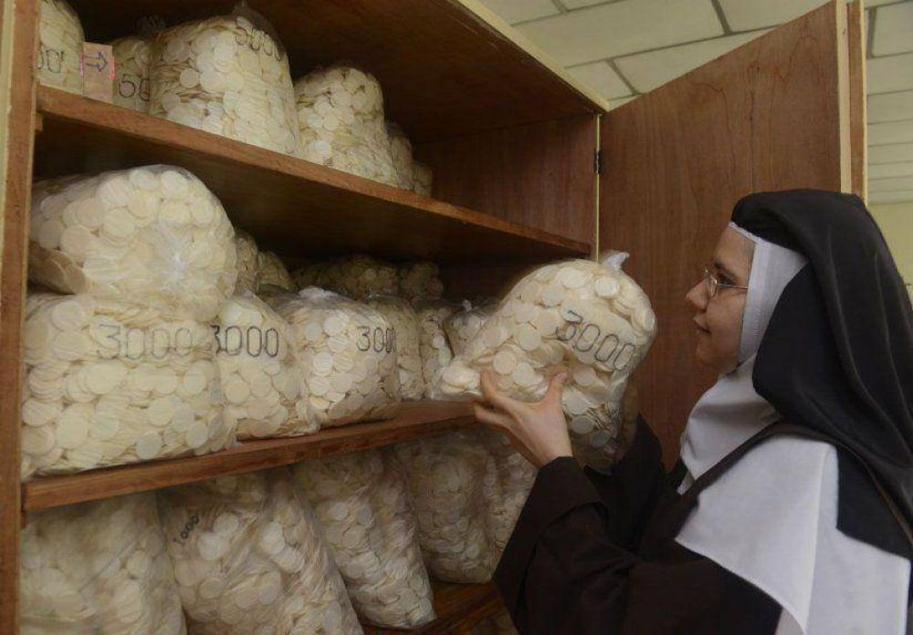 El alimento espiritual ya adquiere forma en convento de carmelitas