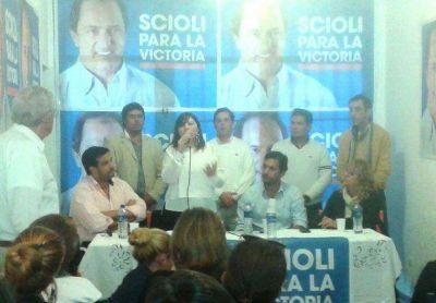 La Ministra de Economía bonaerense se reunió con la dirigencia sciolista entrerriana
