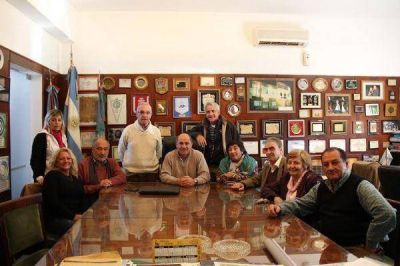 Reunión de Secco con distintos agrupaciones del Frente para la Victoria