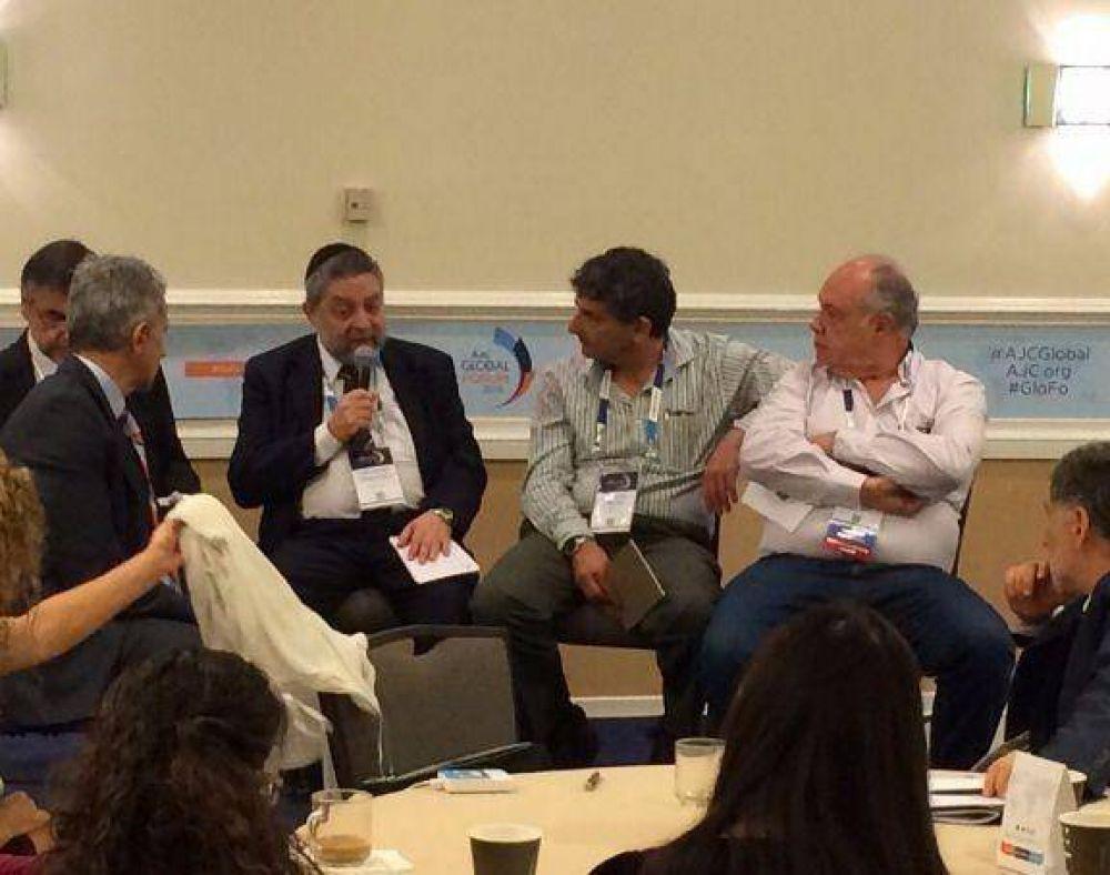 Destacada presencia de AMIA en el Encuentro Anual del American Jewish Committee