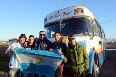 De Mar del Plata a La Serena, en colectivo por la Selección